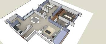 100 home design 3d 2bhk isometric drawings 3d by aksatech