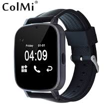 android smspush colmi smartwatch vs18 arc screen call sms push message