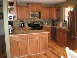 maple cabinets and hickory floors google search kitchen