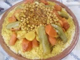 cuisine marocaine couscous couscous aux sept légumes recettes de cuisine marocaine