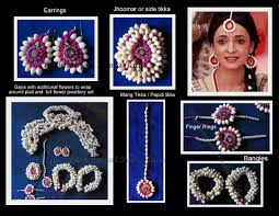 flower jewellery flower jewellery pushpanjali poola