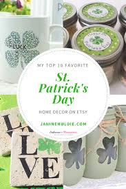 my top 10 favorite etsy st patrick u0027s day home decor free