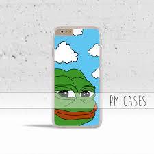 Meme Case - sad frog meme phone case on the hunt