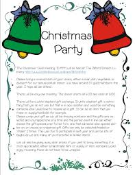 mesmerizing free printable blank christmas party invitations