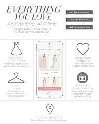 wedding registry apps david s bridal wedding app