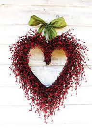 heart wreath wreath wedding decor wedding heart wreath mothers day