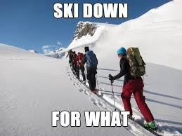 Ski Meme - ski memes the ski monster