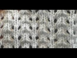 knit pattern easy lace stitch