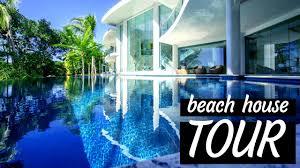 beach house tour youtube