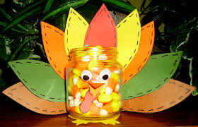 turkey treat jar kids u0026 glitter