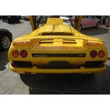 1996 lamborghini diablo sv diablo sv yellow black 1996