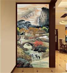 popular chinese wall murals buy cheap chinese wall murals lots custom size photo mural living room porch 3d wallpaper chinese ink painting landscape picture wall murals