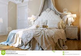 chambre a coucher baroque style du baroque de chambres à coucher illustration stock image