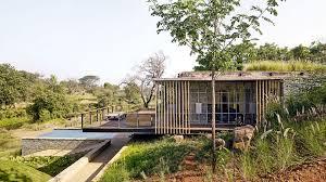 a house on a stream architectural design interior design