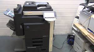 konica minolta bizhub c451 colour photocopier printer scanner