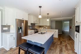 laundry in kitchen hartland kitchen and laundry room remodel badger carpentry inc