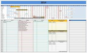 excel schedule template schedule templates terminate contract