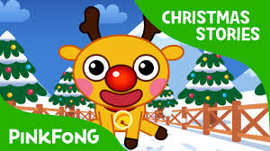 rudolph red nosed reindeer christmas stories pinkfong