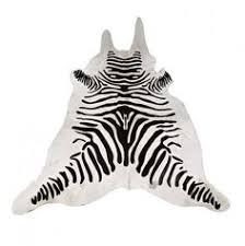 zebra skin rug african house