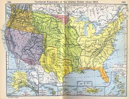 Alaska Us Map by Map Of The United States Expansion Since 1803