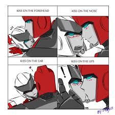 Transformers Meme - transformers kiss meme by prajzis on deviantart