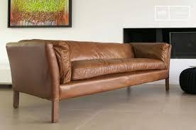 canape cuir vintage 13 idées déco de canapé en cuir marron