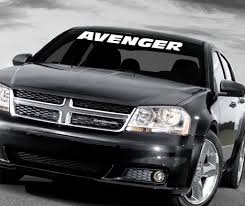 2016 jeep avenger dodge avenger windshield decal dodge avenger cars and wheels