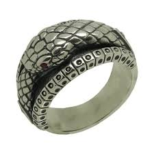 mens rings silver images Sterling silver 925 ouroboros illuminati biker band mens ring jpg