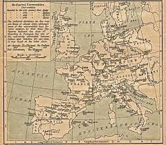 Map Of Renaissance Europe by Decameron Web Maps