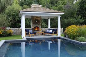 Backyard Cabana Ideas Pool Side Cabana Designs Ideas Fresh