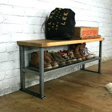 Bench With Shoe Storage Diy Shoe Storage Bench Probeta Info