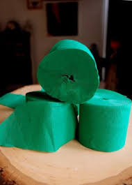 crepe paper streamers bulk green crepe paper streamer party decorations 195ft total 3