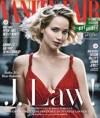 New Vanity Fair Cover Jennifer Lawrence Talks Guilty Pleasures Calls New Bf A