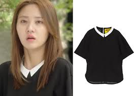 black blouse with white collar marriage not dating episode 10 joo jang mi s black top with