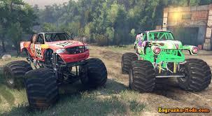 the original grave digger monster truck pastana gravedigger monster trucks v1 0 for spin tires 2014