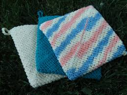 Crochet Patterns For Home Decor Crochet Pot Holders Enhance The Beauty Of Your Home U2013 The Knit Box
