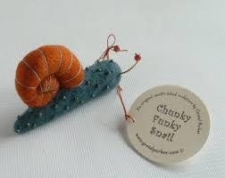 felted snail etsy