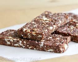 heavenly raw chocolate protein bars chocolate chilli mango