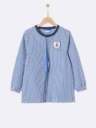 tabliers blouse et torchons de cuisine tablier peinture enfant garçon blouse écolier cyrillus