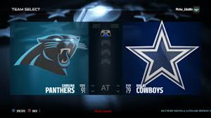 2015 nfl thanksgiving sim carolina panthers vs dallas cowboys