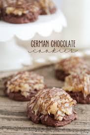 best 25 german chocolate cookies ideas on pinterest german