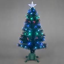 7ft fibre optic tree lights decoration