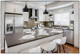 decoration de cuisine idées d éclairage de cuisine plancher en bois naturel le
