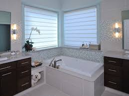 spacious contemporary bathroom remodel carla aston hgtv