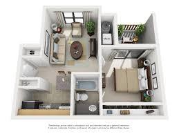 Cascade Floor Plan by Studio 1 And 2 Bedroom Floor Plans Park Valley