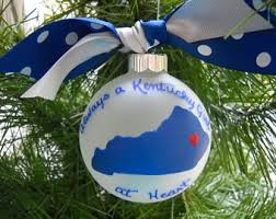 kentucky ornament etsy