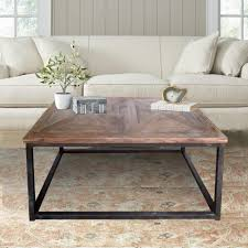reclaimed wood square coffee table coffee table square wood coffee table rustic reclaimed glass top