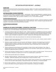 9 correctional officer job description resume job duties entry