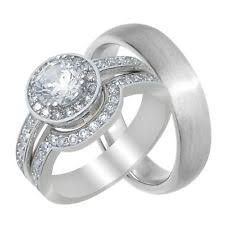 Wedding Ring Sets For Him And Her by Wedding Rings For Him And Her Ebay