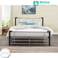 2 6 Bed Frame by Birlea Faro Metal Bed Frame